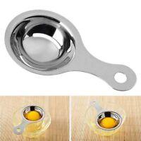 Separateur de jaune d'oeuf en acier inoxydable Separateur Blanc Egg Sieve D H2K1