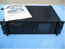 Nikko 230 Stereo Power Amplifier - Original Box, Manual