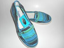 Womens Mad Love Lizzie Canvas Shoe Slip on Casual  Multi-Color 5/6 NWT
