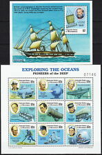 Micronesia 2 S/S Exploring the Oceans Pioneers of the Deep 1997 MNH-19,25 Euro