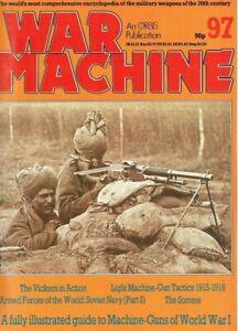 WAR MACHINE #97: WWI MACHINE GUNS/ LIGHT MG TACTICS/ RED NAVY #2/ DOWNLOAD