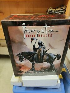 Frank Frazetta DEATH DEALER Statue FULL SIZE signed by Randy Bowen #532/5000
