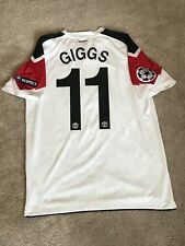MANCHESTER UNITED AWAY SHIRT 2010/11 MEDIUM (M) GIGGS 11 ADULTS CHAMPIONS LEAGUE