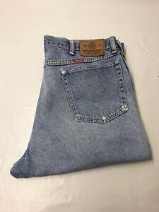 Men's Wrangler Jeans Blue  W38 L32 Vintage Jeans Made in the USA Regular Fit