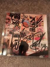 SIMPLE PLAN FULL BAND  SIGNED CD COVER PROOF COA AUTOGRAPHED PIERRE BOUVIER