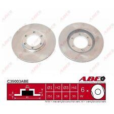 Bremsscheibe, 1 Stück ABE C39003ABE