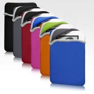 Kindle Fire Nook Kobo Samsung E-reader Tablet Reversible Sleeve Pouch Case Cover