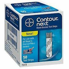 Contour 7311 Next Diabetic Test Strips - 50 Pieces