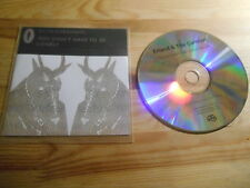 CD Indie fuir a/t Carnival-you don 't have to (1 chanson) promo full time Hobby