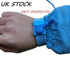 Anti-Static Blue PVC ESD Discharge Wristband AntiStatic ESD Control Wrist Strap