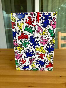 Bearbrick Keith Haring 400% & 100% set. *USED*