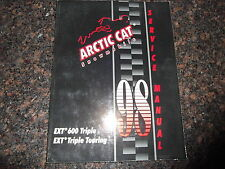 1998 ARCTIC CAT EXT 600 TRIPLE / TOURING SNOWMOBILE SLED SERVICE REPAIR MANUAL