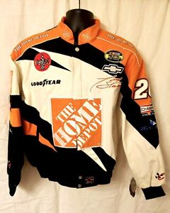 Vtg NOS NASCAR Tony Stewart #20 Home Depot Chase Authentics Jacket Medium Nextel