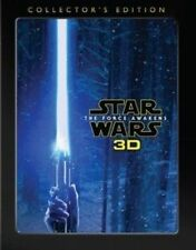 Star Wars The Force Awakens Collector's Edition 3d Blu-ray DVD All Region