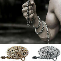 Tactical Bracelet Stainless Steel Defense Outdoor Survival Necklace EDC Chain