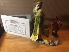 Figurine~Enchantica Spring Wizard Fantazar & Yim Cert. #1621-Collectors