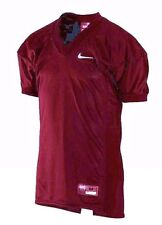 NEW NIKE MEN'S DESTROYER CARDINAL RED MESH GAME FOOTBALL JERSEY SHIRT M