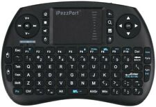 iPazzPort Backlit Keyboard and Bluetooth Mini Wireless Keyboard with Touchpad