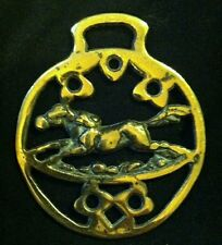 Vintage Flying Horse Pegasus Horse Harness Brass England Horse Running Horse