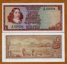 South Africa, 1 Rand, ND (1975), P-116b, UNC