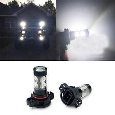 AUXITO 2x 50W CREE H16 50W 2504 6000K White LED Daytime Running Fog  Light Bulb
