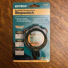 Extech Instruments Hw30 Heat Watch Digital Humidity Temperature Stopwatch New