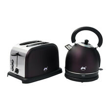 Ovation Plum 2 Slice Toaster and Kettle Breakfast Set - 1500 / 2200W, 1.8L
