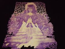 Labyrinth / David Bowie Shirt ( Used Size L ) Very Nice Condition!!!