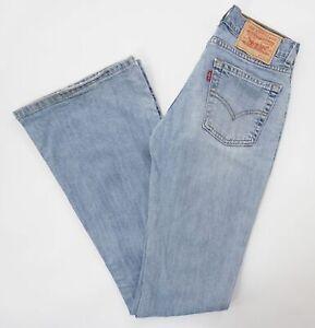 Levis Levi's Jeans 544 W27 L36 27/36 blau stonewashed Schlaghose Denim E1051