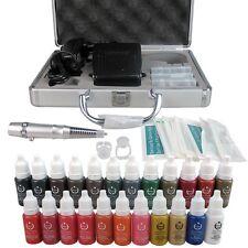 Solong Tattoo Makeup Kit Permanent Eyebrow Machine 23 Inks EK111-1