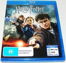 Harry Potter And The Deathly Hallows : Part 2 (Blu-ray, 2011, 4-Disc Set)