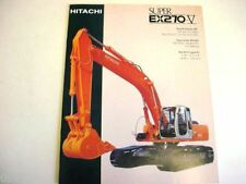 Hitachi EX270-5 Excavator Literature
