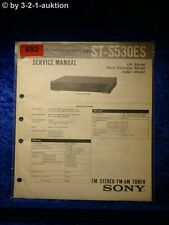 Sony Service Manual ST S530ES Tuner (#0652)