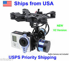 Tarot Brushless Gimbal T-2D for GoPro Hero3 Mount DJI Phantom TL68A00  FPV RTF