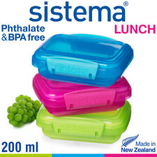 sistema - Lunchbox 3er Set - 200 ml