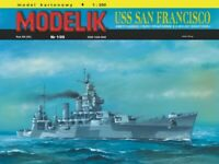 "GENUINE PAPER-CARD MODEL KIT - USS ""SAN FRANCISCKO"" Format A3"