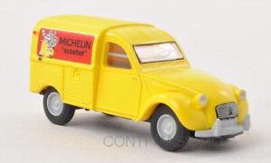 "BREKINA 14149 – Citroen 2 Cv Van ""Michelin Scooter"" – 1:87"