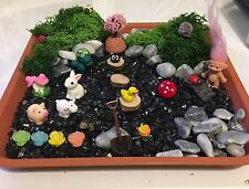 34 Fairy Garden Miniatures Dolls House Miniature Railways