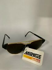 Mirage Comfort Occhiali Black Sunglasses Made In Italy Brown
