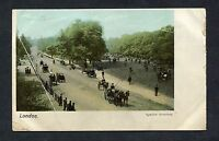C1910 View of Rotten Row, Hyde Park, London.
