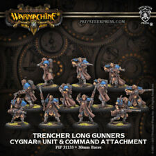 Warmachine Cygnar Trencher Long Gunners & Command PIP31133