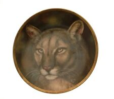 Lenox Big Cat of the World Cougar Plate GB70