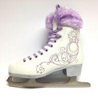 Oxelo Ice Art 3 purple/Fell Schlittschuhe Damen Schlittschuh Eiskunstlauf Gr. 41