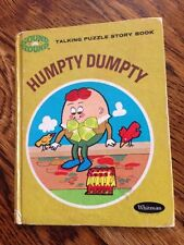 Humpty Dumpty  Whitman Talking Puzzle Story Book Daphne Hogstrom