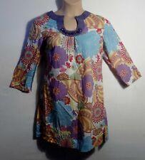 BODEN purple ruched collar tunic dress UK 16 US 14 EU 42