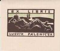 ex-libris Ludvik palenicek (Karel Minar CSR-Wood)