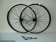 Coppia ruote 27.5 nere opache Komet per mtb v-brake - matt black 27.5 mtb wheels