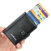 Credit Card Wallet Slim RFID Blocking Credit Card Holder Minimalist Wallet