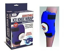 Knee Ice Bag Wrap Adjustable Removable Ice Pack North American Healthcare NEW