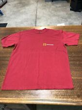 ABECROMBIE & FITCH - BRAND NEW RED SHORT-SLEEVE T-SHIRT- SIZE ADULT SMALL